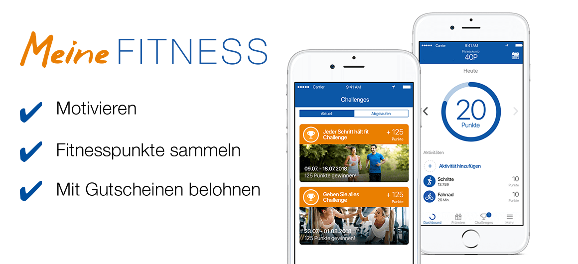 meinefittness-app-screens